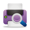 Search Printer - icon gratuit #194555
