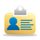 tarjeta de identificación - icon #194605 gratis