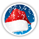 Merry Christmas Santa Hat - icon gratuit #194645