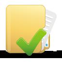 Folder Accept - Free icon #194915
