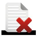 supprimer la page - icon gratuit(e) #194985
