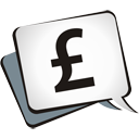 Pound Sterling - icon #195105 gratis