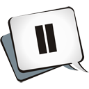 Pause - icon gratuit #195145