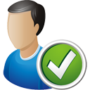 User Accept - icon gratuit #195165