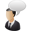 Business User Comment - icon gratuit #195205