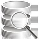 Suche in der Datenbank - Kostenloses icon #195295