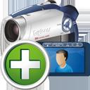 Fügen Sie digitaler Camcorder - Kostenloses icon #195305