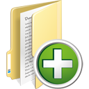 Folder Add - icon #195335 gratis