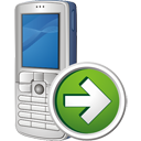 Mobile Phone Next - Free icon #195495