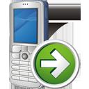 Siguiente teléfono móvil - icon #195495 gratis
