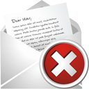 Novo Mail excluir - Free icon #195505