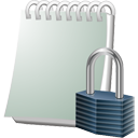 Notebook Lock - icon gratuit #195535