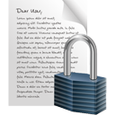 Page Lock - icon gratuit #195565