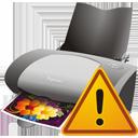 принтер предупреждение - Free icon #195595