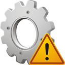 Process Warning - icon gratuit #195615