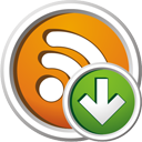 Rss Down - icon gratuit(e) #195635