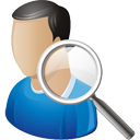 User Search - icon gratuit(e) #195735