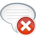 Comment Remove - Free icon #196145