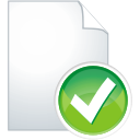 Page Accept - icon gratuit #196325