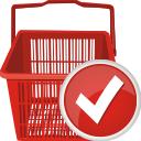 carrinho de compras aceitar - Free icon #196695
