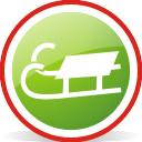 Sledge Rounded - icon gratuit #197065