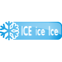 Ice Ice Ice Button - icon gratuit #197105