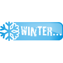 Winter-Schaltfläche - Kostenloses icon #197125