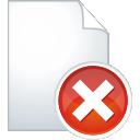 suppression de la page - Free icon #197575
