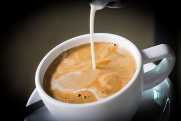 Coffee and milk - image #197835 gratis