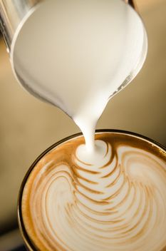 Coffee latte art - image #197845 gratis