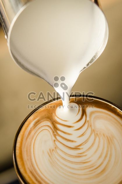 Café latte arte - image #197845 gratis