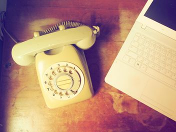 Vintage telephone - Free image #197975