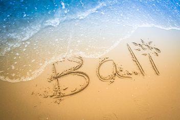 Bali beach - Free image #198025