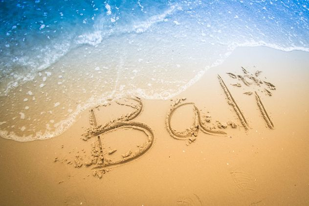 Bali beach - image #198025 gratis