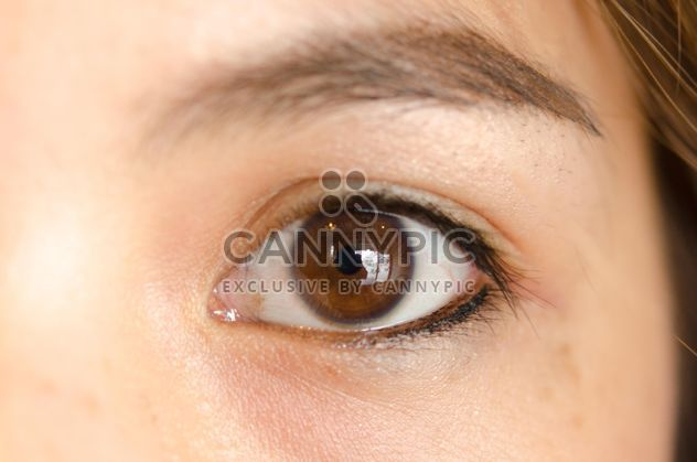 Asian woman eye - Free image #198105