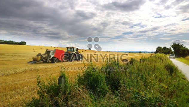 Grain agriculture machinery - Free image #198305