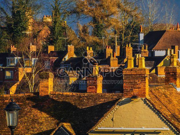 Telhados de casas de tijolo - Free image #198345