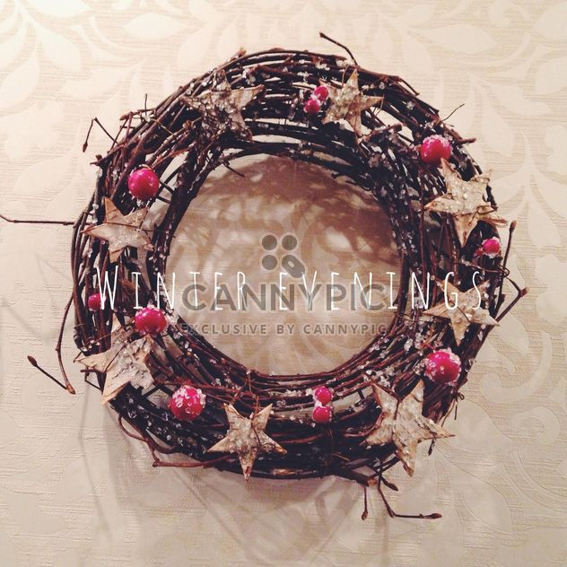 Beautiful Christmas wreath - Free image #198425