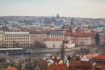 view on city Czech Republic - Kostenloses image #198615