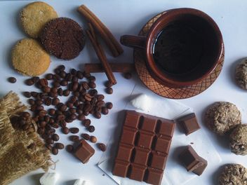 Cup of coffee, cinnamon - image #198745 gratis