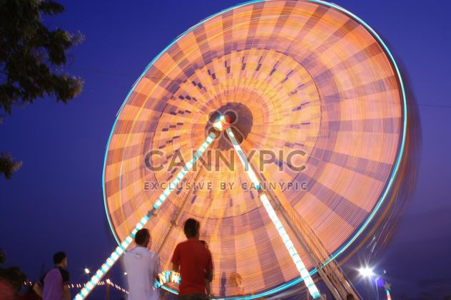 Ferris wheel at night - Free image #199015