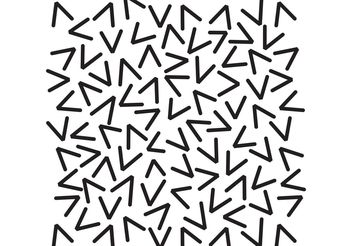 Pattern of Random Vs - Free vector #199075
