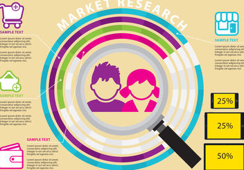 Market Research Vectors - vector gratuit #200375