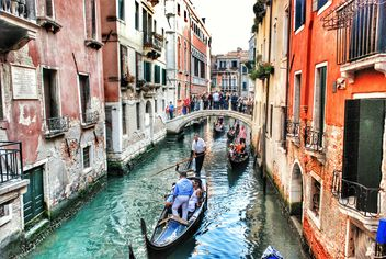 Venice, Italy, gondolas - image #200775 gratis