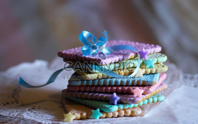 cookies de l'arc-en-ciel - image gratuit #200785