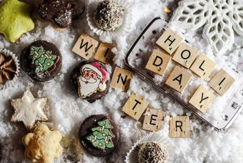 Christmas cookies decoration - image #200795 gratis