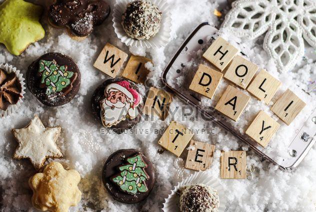 Cookies-Weihnachtsdekoration - Kostenloses image #200795