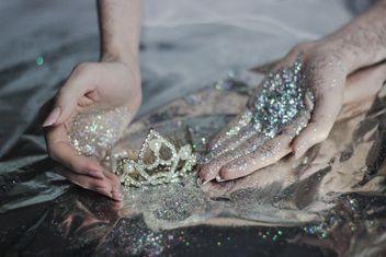 glitter princess tiara - Kostenloses image #201045