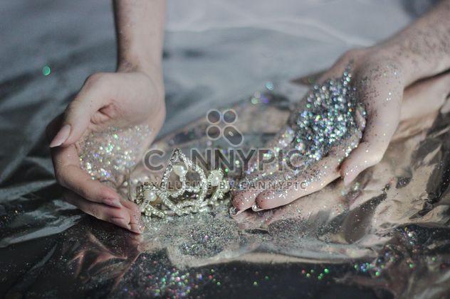 Prinzessin Glitter-tiara - Kostenloses image #201045