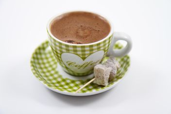 A Cup of Turkish Coffee and Turkish Delights - Free image #201095